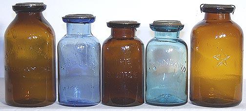 rare colored wax sealers